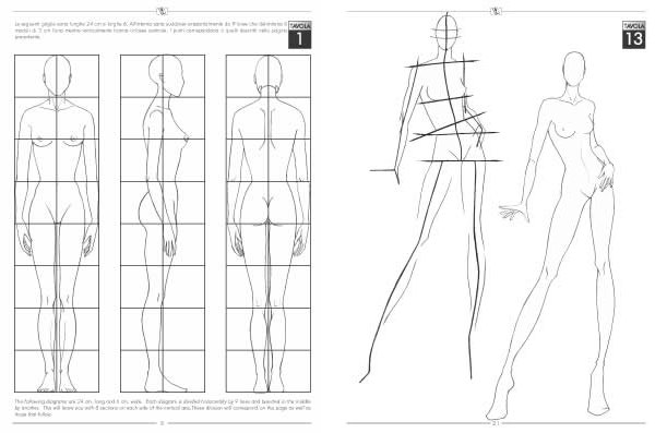 Fashion Design Book The Fashion Drawing Book For Fashion Designer
