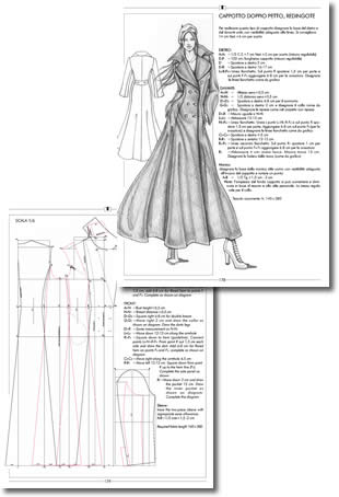 Il modellismo the pattern making book for the pattern for Il modellismo burgo