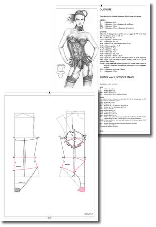 Sequences of Fashion Design drawing book  2